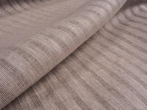Льняная вуаль интерьерная вареная арт. 136552 цвет серый, ширина 150см