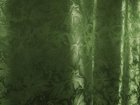 Жаккард Respect ZG 703-06/150 P болотный зеленый, ширина 150см. Импорт