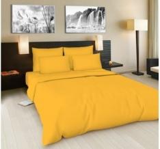Поплин гладкокрашеная 100П-1 цвет манго, ширина 220см