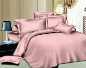 Твил-сатин гладкокрашеный pink SB, ширина 220см