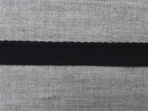 3646 ЛЕНТА ОТДЕЛОЧНАЯ 12мм/кант 3мм,черный (рул.25м)