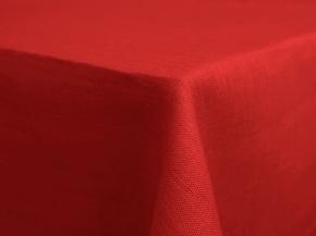 17С141-ШР Скатерть 100% лен 1427 цв. красный 143*120