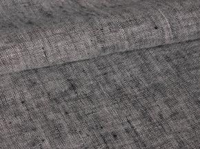 Ткань 05с-27ЯК лен пестроткань ХМ усадка цв. 10,8/10,9 черный/серый, ширина 150см.