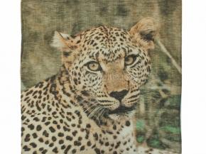 "18с239-ШР/039/у Платок 65*65 ""Леопард африканский - 2""цв 1 рис. 838"