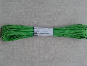 1С14-Г50 ШНУР ОТДЕЛОЧНЫЙ (сутаж) яблочно-зеленый*105, d-2.5мм (рул.20м)