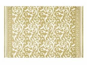 Одеяло хлопковое 170*205 жаккард 3/13 цвет горчичный