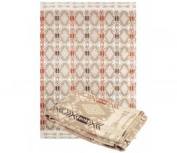 Одеяло хлопковое 140*205 жаккард 11/1 цвет бежевый
