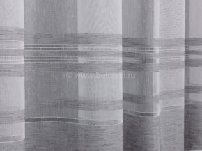 Вуаль под лен D04 DIEGO V03- серый, ширина 295см