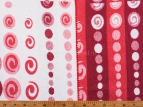 Одеяло хлопковое 170*205 жаккард 38/8 цвет красный