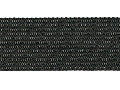 Тесьма вязан.окантовочная 18мм (2,1гр/м), черный (рул.100м)