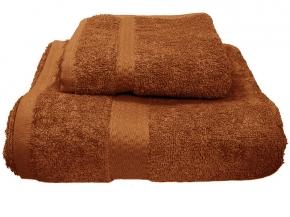 Полотенце махровое Amore Mio GX Classic 70*140 цв. коричневый теплый