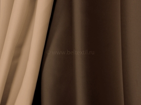 Ткань блэкаут C94 MIRA LIFE цв. 1-2А песочный/коричневый, 300см
