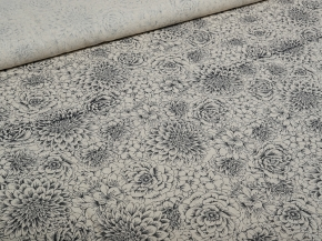 Ткань бельевая арт 2-21 п/лен кислованный рис. Мелодия, 150см