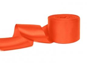2С406У-Г50 ЛЕНТА АТЛАСНАЯ оранжевый*023, 56мм (рул.25м)