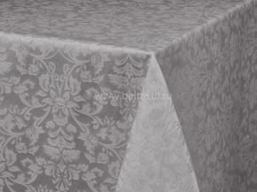 1808Б-01 Скатерть Журавинка 1472/010301 148*148 цв. серый