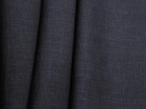 4С33-ШР/2пн.+ГлМХУ 1483/0 Ткань костюмная цвет графит, ширина 150см, лен-100%