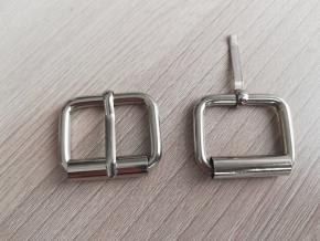 Пряжка металл.25мм (4мм) никель (уп.50шт)