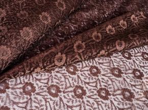 1.50м 2С12-Г10 К полотно гардинное рисунок 2007 цвет  шоколад