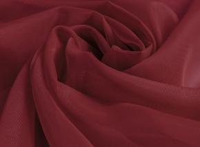Вуаль однотонная Шелли ZN 34/300 V темно-красный, ширина 300 см