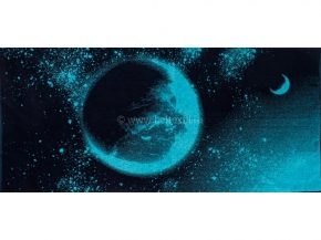 6с102.411ж1 Космос 7 Полотенце махровое 67х150см