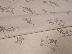 03С124-ШР/пн./зцп+ХУ 6/446 Ткань сорочечная, ширина 150см, хлопок-51% лен-49%