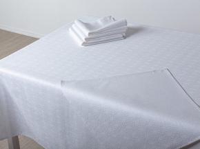 17с211-ШР/уп.143*200 Комплект столовый рис.159 цв. белый