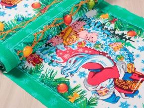 Полотенечная ткань вафельная наб. арт. 60 рис. 5517/1, 50 см