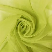 """Вуаль однотонная """"Шелли"""" SH 18/295 V майская зелень, ширина 295 см"""