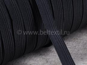 Резинка ткацкая 10мм, черный (рул.100м) Тип F
