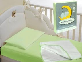 0399-28003-20 Набор детский в кроватку цвет салатовый