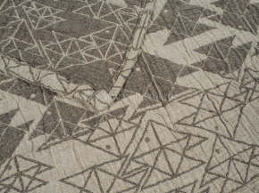 """17с492-ШР/у 50*115 полотенце """"Оригами"""" цв. 1 серый"""