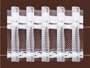 54мм. 03С3147ПЭ-Г50 ЛЕНТА ДЛЯ ШТОР белый 54мм, параллельная сборка (рул.50м)