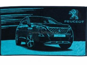 6с103.412ж1 Peugeot Полотенце махровое 50х90см