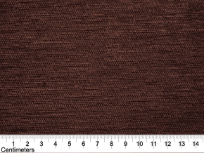 Гобелен шиниловый однотонный шоколад (10-1511) компаньон, ширина 145 см