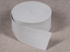 Резинка башмачная 100мм, белая (рул.20м)