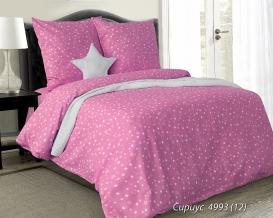 """4475-БЧ  Павлинка 1.5 спальный комплект """"Сириус"""" цвет розовый"""