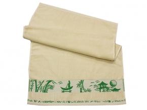 """10с39 полотенце махровое 50*90 """"Бамбук"""" цвет бежевый"""