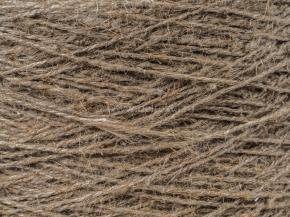 Пряжа чистольняная оческовая крученая сухого прядения 400*2 (2.5/2) СРО суровая, сорт 1 (кг)