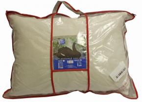 Подушка трикотаж  лебяжий пух/ кант  50*70