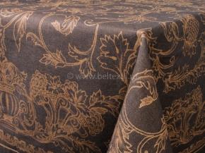 ОБР 1751 Скатерть 140*90 Французский мотив цв. шоколад
