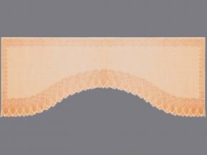 16с24-Г10 рис 2075 занавеска 160*350 цв. персиковый