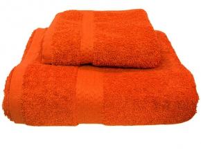 Полотенце махровое Amore Mio GX Classic 33*70 цвет оранжевый