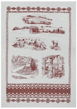 "17с336-ШР 50*70 полотенце ""Лён-ленок"""
