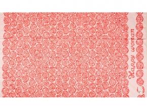 6с102.412ж1 Pink Полотенце махровое 104х175см