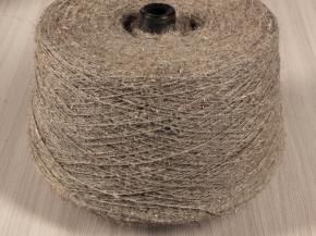 ,Пряжа чистольняная оческовая крученая сухого прядения 400*1 (2.5/1) СРО суровая, сорт 1 (кг)