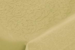 "Ткань скатертная арт.14С7SHT ""Мирелла"" рис.001 цвет 130633 фисташковая ширина 310 см"