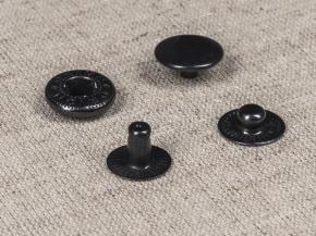 Кнопка-пружина ALFA 15мм, оксид (уп.720шт)
