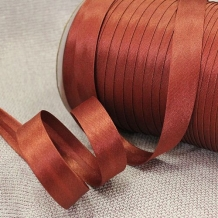Косая бейка Ajur HY 155/1,5см (100м) коричневый