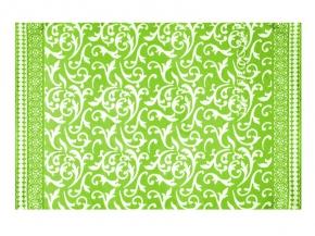 Одеяло хлопковое 170*205 жаккард 3/5 цвет салатовый