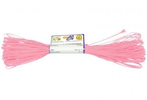 1С13-Г50 ШНУР ОТДЕЛОЧНЫЙ (сутаж) розовый*004, d-1.8мм (рул.20м)